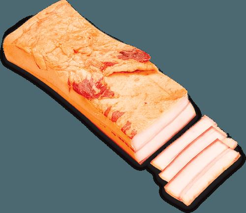 Údená slanina s kožou